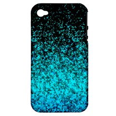Glitter Dust 1 Apple Iphone 4/4s Hardshell Case (pc+silicone) by MedusArt