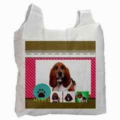 Pet By Pet    Recycle Bag (two Side)   Diixte9dl7sg   Www Artscow Com Front