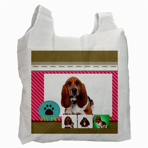 Pet By Pet    Recycle Bag (one Side)   Hsajhajkvgl6   Www Artscow Com Front