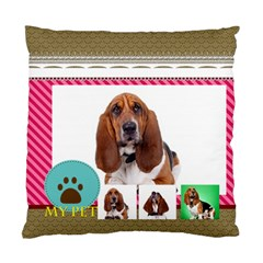 Pet By Pet    Standard Cushion Case (two Sides)   8pl70x08vdyw   Www Artscow Com Back