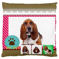 Pet By Pet    Large Cushion Case (two Sides)   Zkvfgg4xfcdi   Www Artscow Com Front