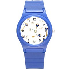 21st Birthday Keys Background Plastic Sport Watch (small)