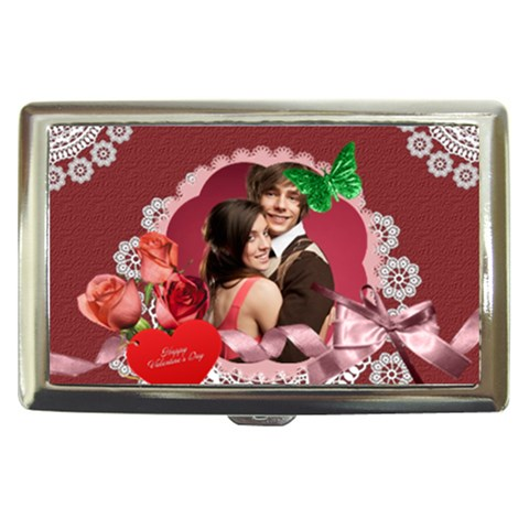 Love By Joely   Cigarette Money Case   B0np4c7yw5i0   Www Artscow Com Front