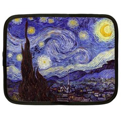 Vincent Van Gogh Starry Night Netbook Sleeve (large)