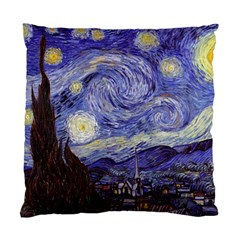Vincent Van Gogh Starry Night Cushion Case (single Sided)  by MasterpiecesOfArt