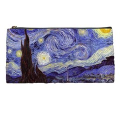 Vincent Van Gogh Starry Night Pencil Case by MasterpiecesOfArt