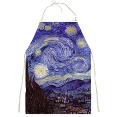Vincent Van Gogh Starry Night Apron by MasterpiecesOfArt