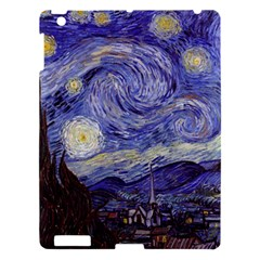 Vincent Van Gogh Starry Night Apple Ipad 3/4 Hardshell Case by MasterpiecesOfArt