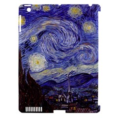 Vincent Van Gogh Starry Night Apple Ipad 3/4 Hardshell Case (compatible With Smart Cover) by MasterpiecesOfArt