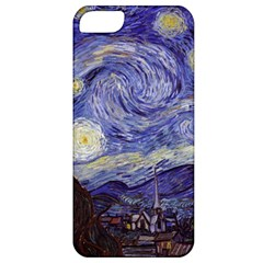 Vincent Van Gogh Starry Night Apple Iphone 5 Classic Hardshell Case by MasterpiecesOfArt