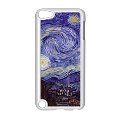 Vincent Van Gogh Starry Night Apple Ipod Touch 5 Case (white) by MasterpiecesOfArt