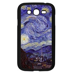 Vincent Van Gogh Starry Night Samsung Galaxy Grand Duos I9082 Case (black) by MasterpiecesOfArt