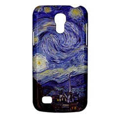 Vincent Van Gogh Starry Night Samsung Galaxy S4 Mini (gt I9190) Hardshell Case  by MasterpiecesOfArt