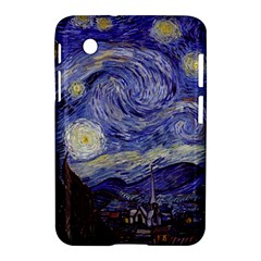 Vincent Van Gogh Starry Night Samsung Galaxy Tab 2 (7 ) P3100 Hardshell Case  by MasterpiecesOfArt