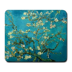 Vincent Van Gogh Blossoming Almond Tree Large Mouse Pad (rectangle) by MasterpiecesOfArt