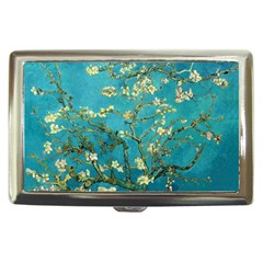 Vincent Van Gogh Blossoming Almond Tree Cigarette Money Case by MasterpiecesOfArt