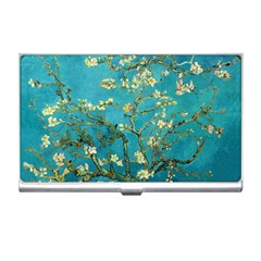 Vincent Van Gogh Blossoming Almond Tree Business Card Holder by MasterpiecesOfArt