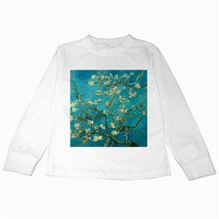 Vincent Van Gogh Blossoming Almond Tree Kids Long Sleeve T Shirt