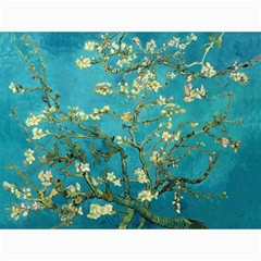 Vincent Van Gogh Blossoming Almond Tree Canvas 12  X 16  (unframed) by MasterpiecesOfArt