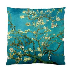 Vincent Van Gogh Blossoming Almond Tree Cushion Case (single Sided)  by MasterpiecesOfArt