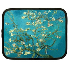 Vincent Van Gogh Blossoming Almond Tree Netbook Sleeve (XL) by MasterpiecesOfArt