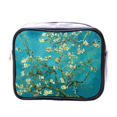 Vincent Van Gogh Blossoming Almond Tree Mini Travel Toiletry Bag (one Side) by MasterpiecesOfArt