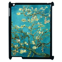 Vincent Van Gogh Blossoming Almond Tree Apple Ipad 2 Case (black) by MasterpiecesOfArt
