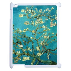 Vincent Van Gogh Blossoming Almond Tree Apple Ipad 2 Case (white) by MasterpiecesOfArt