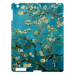 Vincent Van Gogh Blossoming Almond Tree Apple Ipad 3/4 Hardshell Case by MasterpiecesOfArt