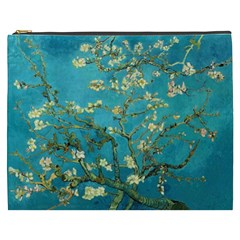 Vincent Van Gogh Blossoming Almond Tree Cosmetic Bag (XXXL) by MasterpiecesOfArt
