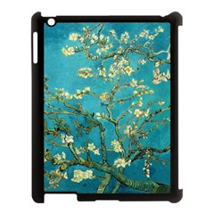 Vincent Van Gogh Blossoming Almond Tree Apple Ipad 3/4 Case (black) by MasterpiecesOfArt