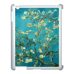 Vincent Van Gogh Blossoming Almond Tree Apple Ipad 3/4 Case (white) by MasterpiecesOfArt