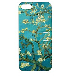 Vincent Van Gogh Blossoming Almond Tree Apple Iphone 5 Hardshell Case With Stand by MasterpiecesOfArt