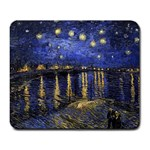 Vincent Van Gogh Starry Night Over The Rhone Large Mouse Pad (Rectangle) Front