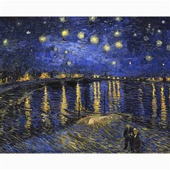 Vincent Van Gogh Starry Night Over The Rhone Canvas 16  X 20  (unframed) by MasterpiecesOfArt