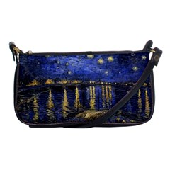 Vincent Van Gogh Starry Night Over The Rhone Evening Bag by MasterpiecesOfArt