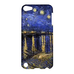 Vincent Van Gogh Starry Night Over The Rhone Apple Ipod Touch 5 Hardshell Case by MasterpiecesOfArt