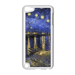 Vincent Van Gogh Starry Night Over The Rhone Apple Ipod Touch 5 Case (white) by MasterpiecesOfArt