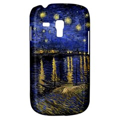 Vincent Van Gogh Starry Night Over The Rhone Samsung Galaxy S3 Mini I8190 Hardshell Case by MasterpiecesOfArt