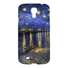Vincent Van Gogh Starry Night Over The Rhone Samsung Galaxy S4 I9500/i9505 Hardshell Case by MasterpiecesOfArt