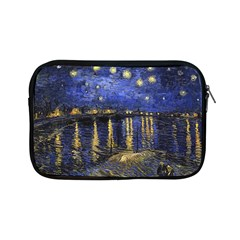 Vincent Van Gogh Starry Night Over The Rhone Apple Ipad Mini Zippered Sleeve by MasterpiecesOfArt