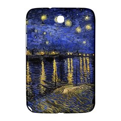 Vincent Van Gogh Starry Night Over The Rhone Samsung Galaxy Note 8 0 N5100 Hardshell Case  by MasterpiecesOfArt