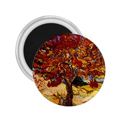 Vincent Van Gogh Mulberry Tree 2 25  Button Magnet by MasterpiecesOfArt