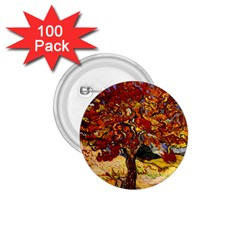 Vincent Van Gogh Mulberry Tree 1 75  Button (100 Pack) by MasterpiecesOfArt