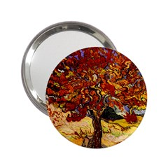 Vincent Van Gogh Mulberry Tree Handbag Mirror (2.25 ) by MasterpiecesOfArt