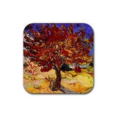 Vincent Van Gogh Mulberry Tree Drink Coasters 4 Pack (square) by MasterpiecesOfArt