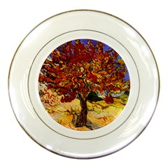 Vincent Van Gogh Mulberry Tree Porcelain Display Plate by MasterpiecesOfArt