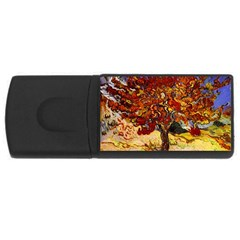Vincent Van Gogh Mulberry Tree 4gb Usb Flash Drive (rectangle) by MasterpiecesOfArt