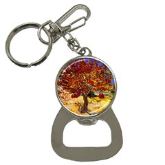 Vincent Van Gogh Mulberry Tree Bottle Opener Key Chain by MasterpiecesOfArt