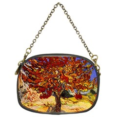 Vincent Van Gogh Mulberry Tree Chain Purse (two Sided)  by MasterpiecesOfArt